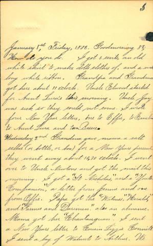Diary image, page 5