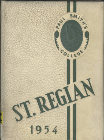Cover of the St. Regian Yearbook, 1954