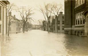 1913 Flood in Watervliet, NY - 14th Street & 1st Avenue