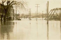 1913 Flood in Watervliet, NY - Second Avenue