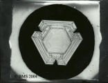 2159-Hexagonal plate (internal hexagon with unique triangular outer borders)