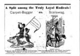 Photocopy of newspaper cartoon, undated