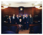 Presiding Justice Denman Celebrating the Dedication of the New Appellate Division Fourth...