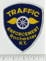 City of Rochester, Monroe County, New York State- Traffic Enforcement Rochester N.Y. patch. (front)