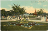 Humboldt Park, floral display