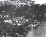 Lakewood Country Club and Lakeshore, Aerial View, 1920