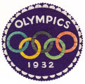 Winter Olympics Games Patch, 1932