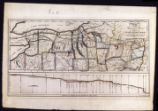 Western part of New York with route of proposed Canal; 1811