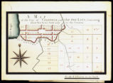 Map of Cazenovia out lots, ten acres sold; 1793