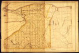 Map fo the Genesee territory with roads, counties and towns: 1802