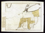 Map of Indian Reservation on the Genesee lands; 1796