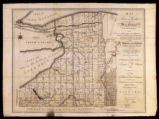 Map of Morris's Purchase or West Geneseo in New York State; 1800