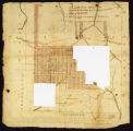 Map of 173 tracts & 6 pts conveyed to W. W. & J. M. Davis; 1813