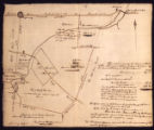 Map of the 692 acres lot, south of Turkey Ho [sic] Road; 1819