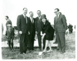 Campus groundbreaking, 1969