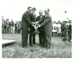 College Road campus groundbreaking, 1969-09-26
