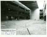 College Forum being built, 1971-06-01, C-block northwest