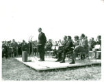 College Road campus groundbreaking, Congressman Barber Conable, 1969-09-26