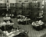 Albany Law School Library from 1954