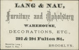 Lang  Nau, Furniture and Upholstery Warehouse, Decorations, etc.