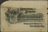 Abraham and Straus, Art Stationery