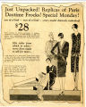 Newspaper ad for Daytime Frocks