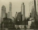 Park Ave looking west on 39th Street, 1936.