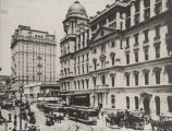 View of Grand Central Depot from Lexington Avenue, 1890.