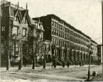 Park Avenue south from 41st Street, 1870.
