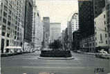 Park Avenue looking north from 34th Street, 1976.