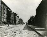 34th Street looking east from Fifth Avenue, 1880.