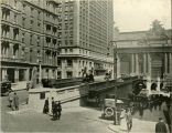 Park Avenue at 40th Street, 1920's.