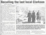 Recalling the Last Local Clarkson