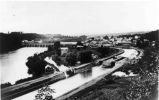Erie Canal Feeder Canal, Lock 21 and aqueduct, Rexford, NY, c. 1880