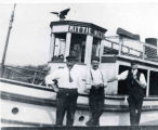 Excursion Boat, the Kittie West, c. 1910