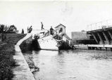 Lock 19, Erie Canal, Vischer Ferry, NY, 1907