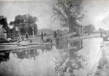 Lock 19, Erie Canal, Vischer Ferry, NY, c. 1900