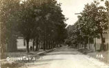 Sugar Hill Road, looking north toward Grooms Corners, NY, c.1910 (view 1)