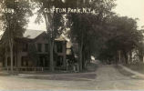 Street view of Clifton Park, NY, c.1910
