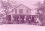 Jonesville Store at Main Street and Longkill Road, Jonesville, NY, c.1890