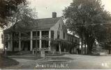 Hotel, Main Street and MacElroy Road, Jonesville, NY, c.1910