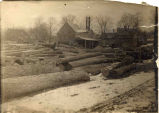 A. L. Dows Saw Mill and Log Yard, Clifton Park, NY (view 1)