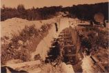 Construction of the Stony Creek Reservoir, Vischer Ferry NY, 1952 (view 3)