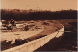 Construction of the Stony Creek Reservoir, Vischer Ferry NY, 1952 (view 2)
