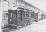 Schenectady Railway trolleys