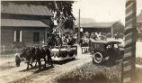 Fourth of July Parade, Clifton Park Village, NY, 1917