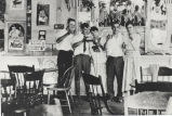 Interior of the new ice cream parlor, Rexford Park amusement park, Rexford, NY