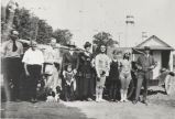 Group at Rexford Park amusement park, Rexford, NY