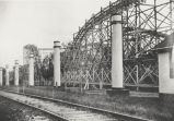 Luna Park roller coaster, Rexford, NY (view 1)