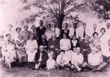 Wood Family Reunion, Jonesville, NY, c. 1925